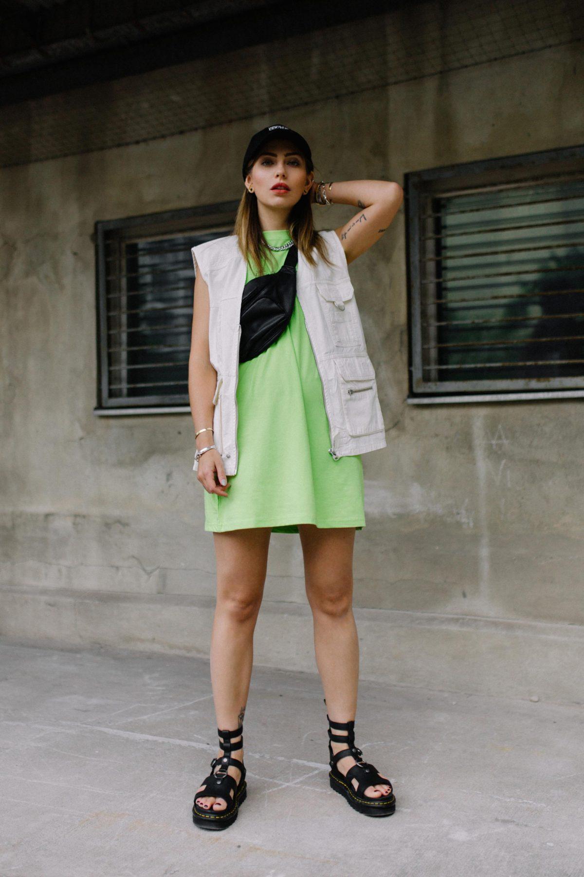 The Mini Lime Dress