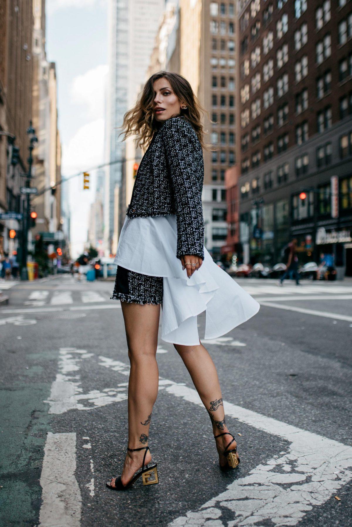 Karl Lagerfeld goes NYC