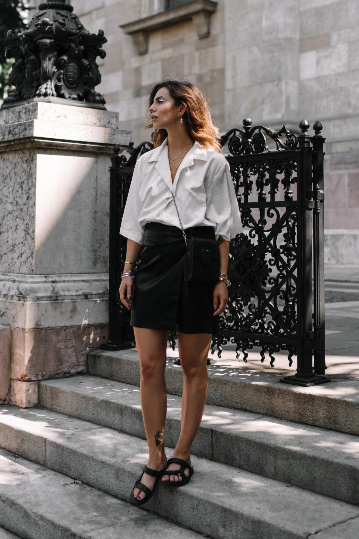 The Summer Leather Skirt