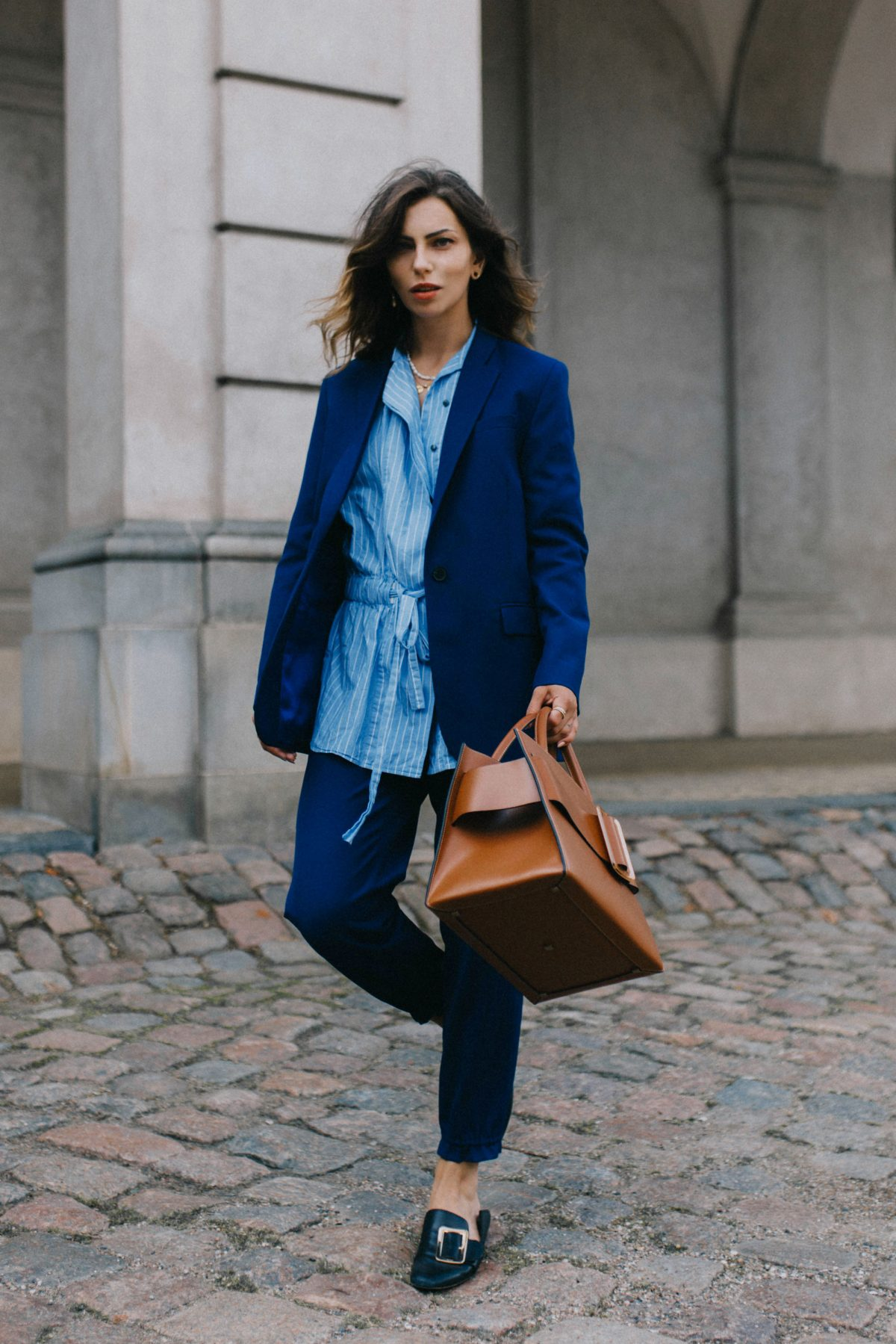 The Modern Blue Suit