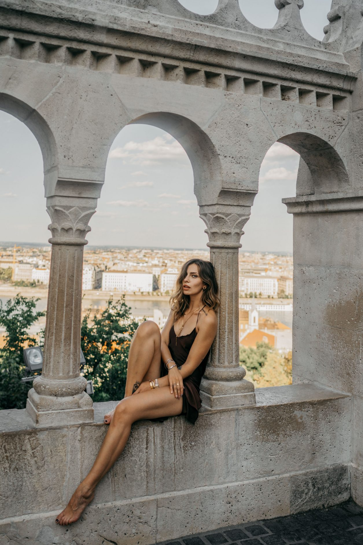 Budapest | Fashion Editorial Shooting | Summer dress via Topshop