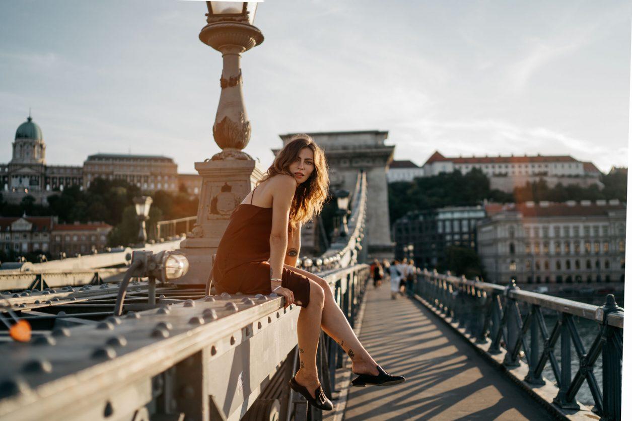 Budapest | Fashion Editorial Shooting | Summer dress via Topshop