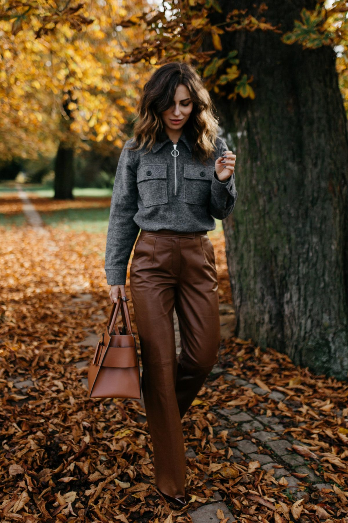 The Brown Leather