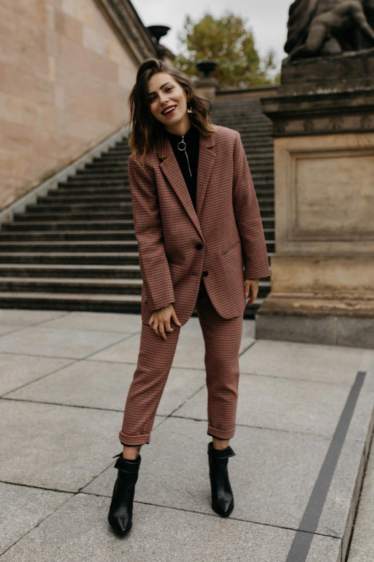 The Autumn Checked Suit