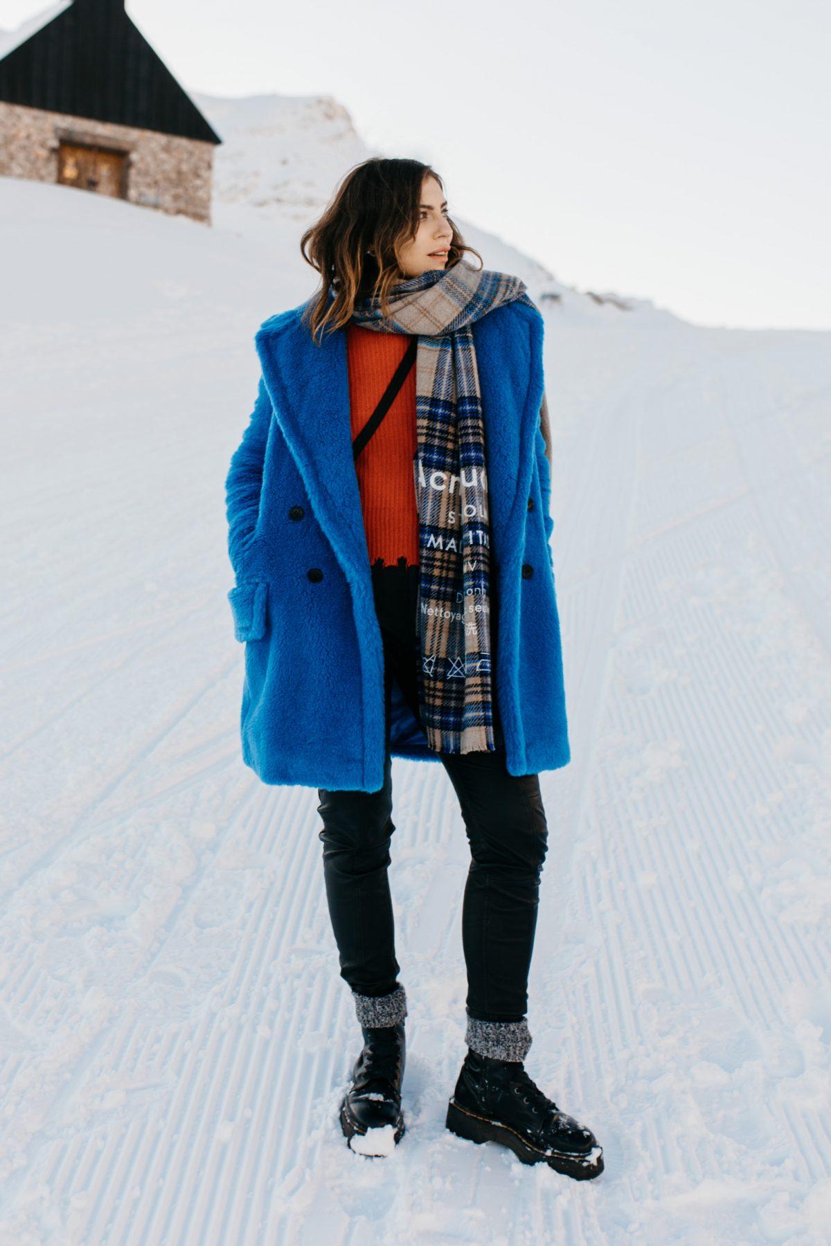 The Blue Teddy Coat