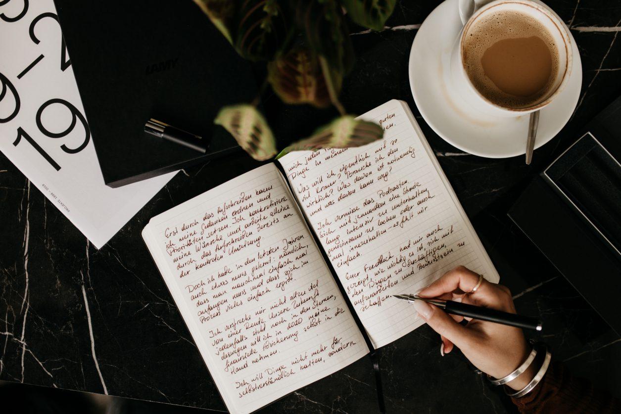 Meine Vorsätze fürs neue Jahr | Bullet Journal | Lamy Füller | Tinte | Handschrift | Editorial | Notizbuch | Kugelschreiber | St. Oberholz | Berlin