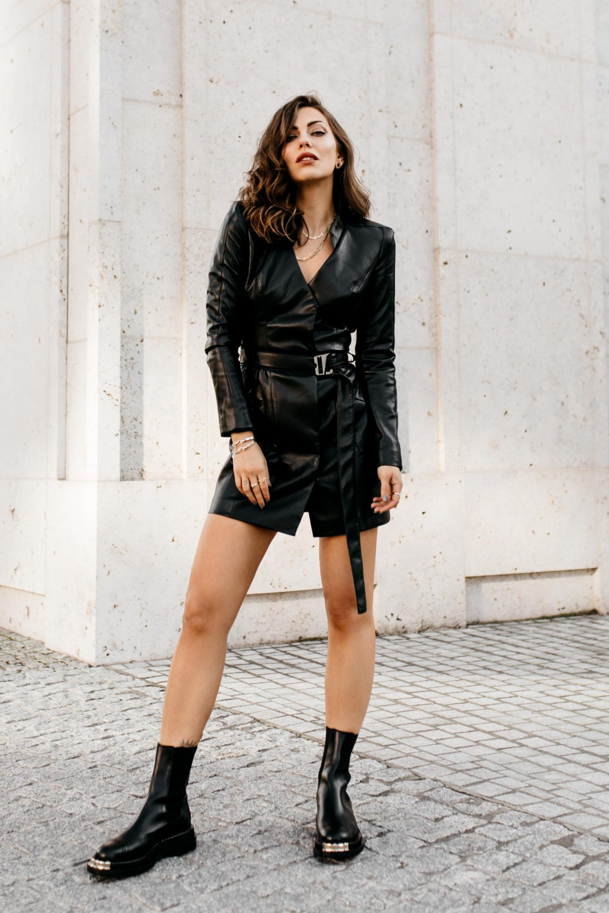 The Leather Dress