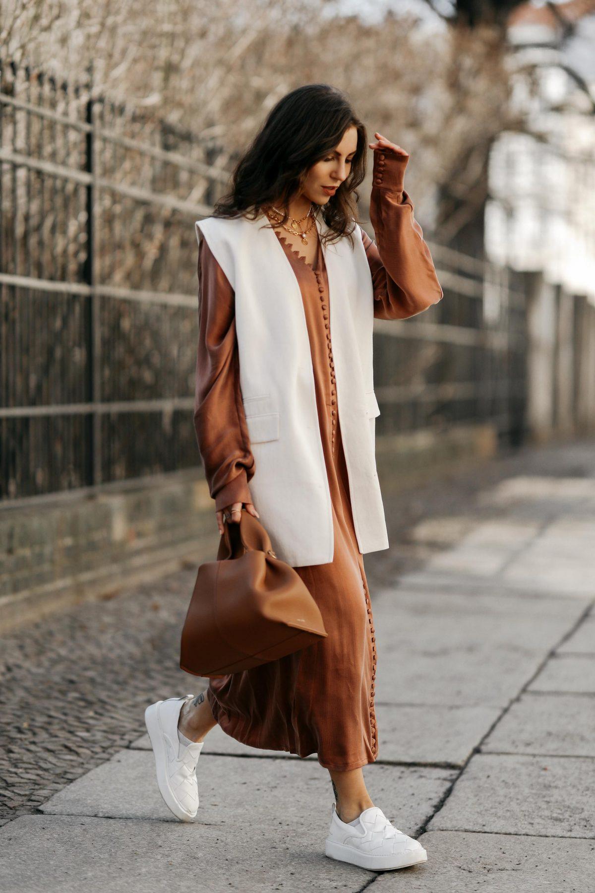 The Spring Silk Dress