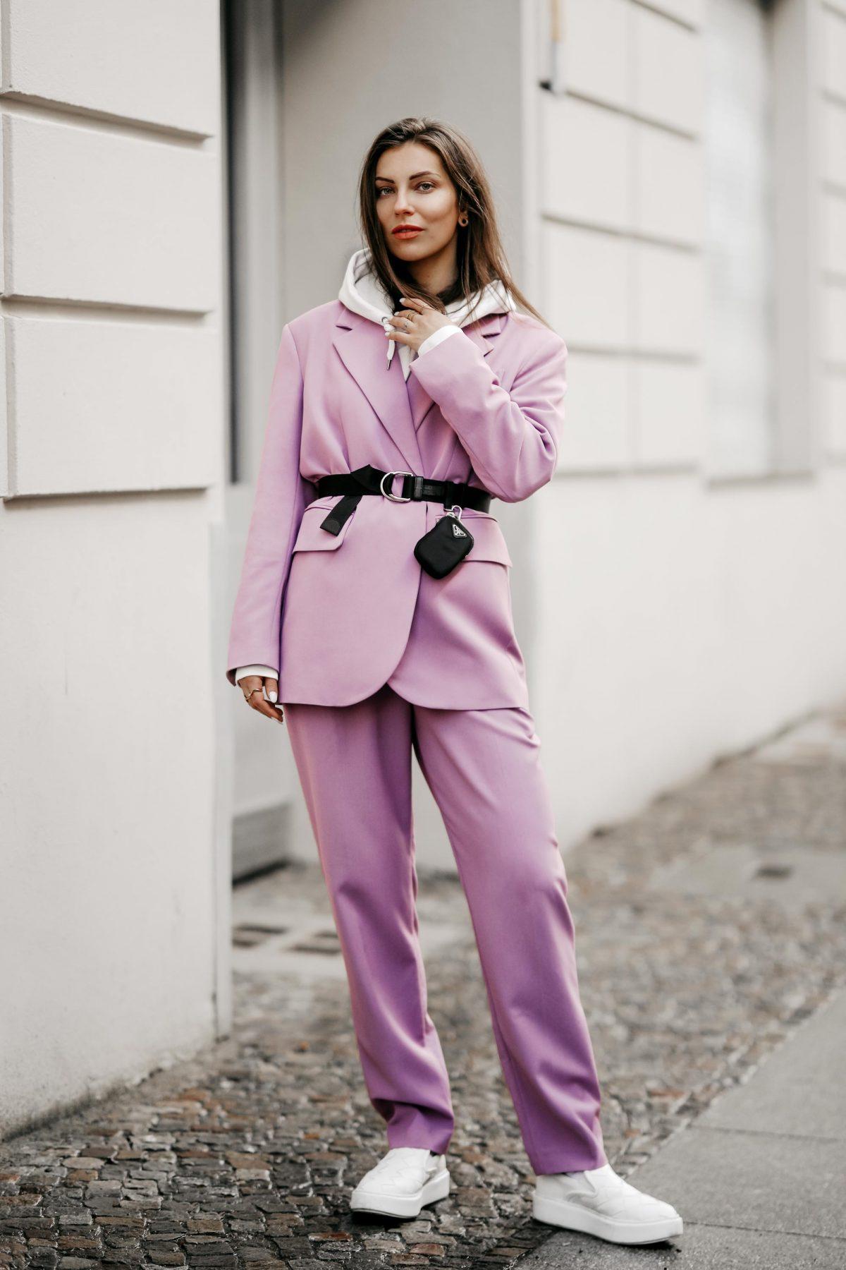 Spring Uniform: Lilac Suit